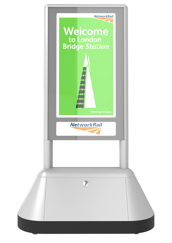 Digital Signage Network Rail Stations